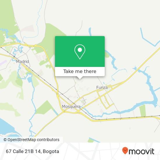 67 Calle 21B 14 map