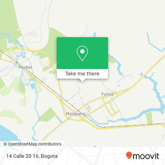 14 Calle 20 16 map