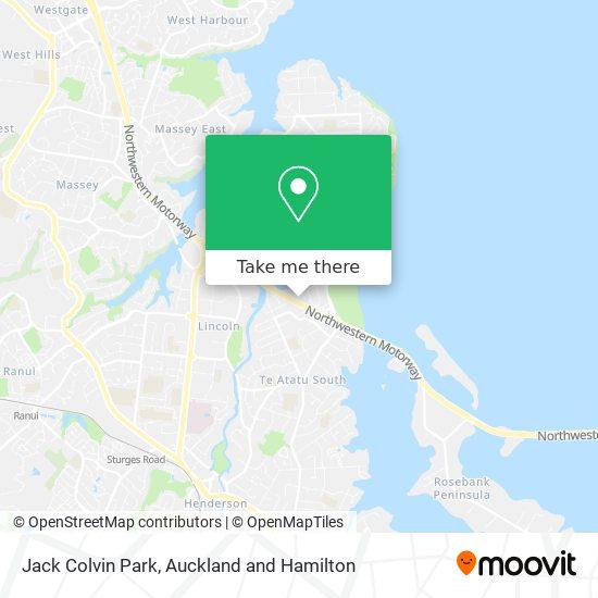 Jack Colvin Park map