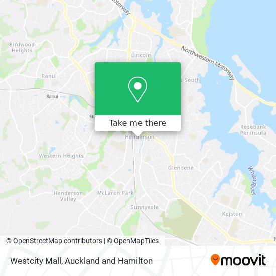 Westcity Mall map