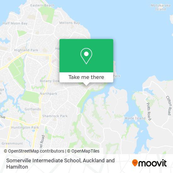 Somerville Intermediate School map