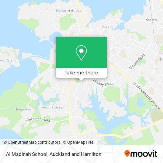 Al Madinah School map