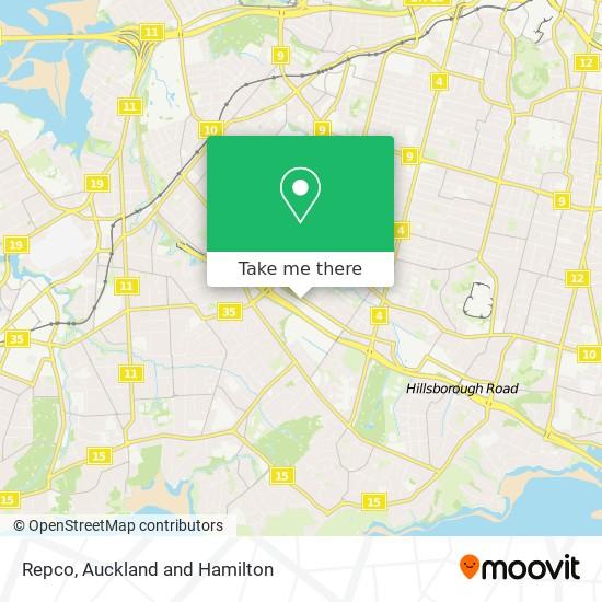 Repco map