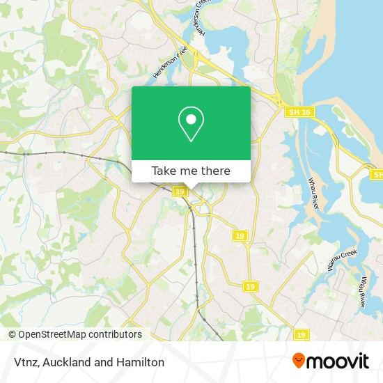 Vtnz map