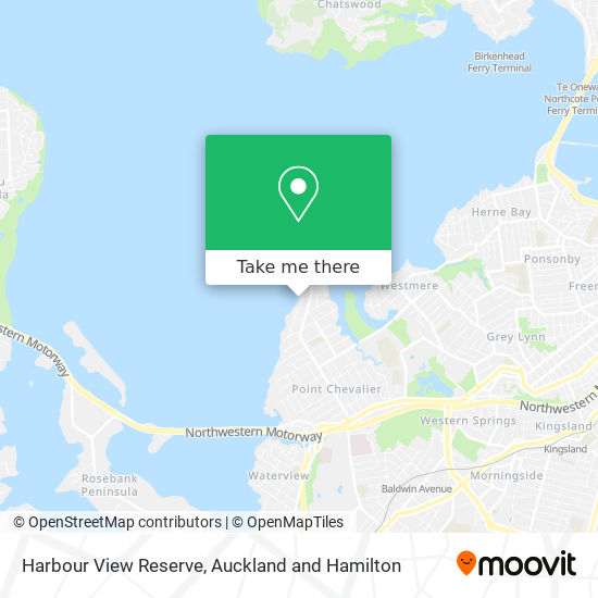 Harbour View Reserve map