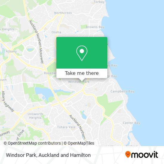 Windsor Park map