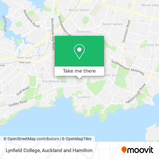 Lynfield College map