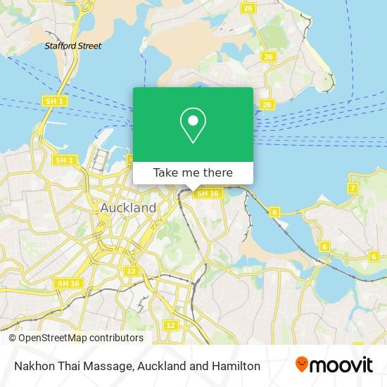 Nakhon Thai Massage map