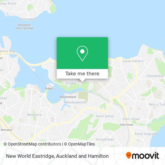 New World Eastridge map
