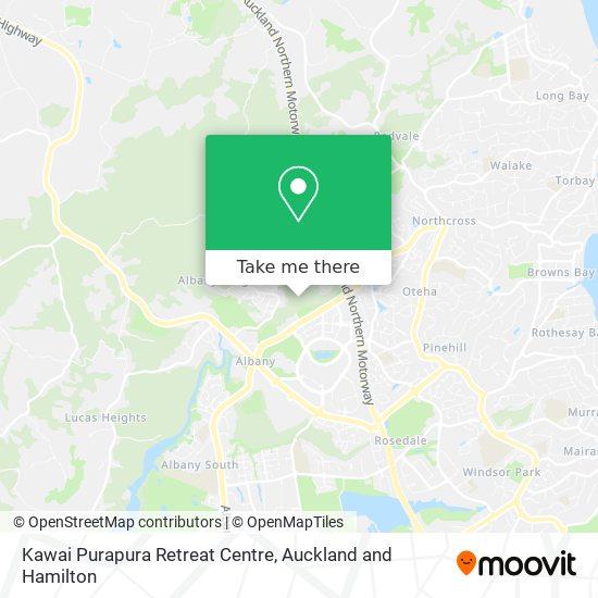 Kawai Purapura Retreat Centre map