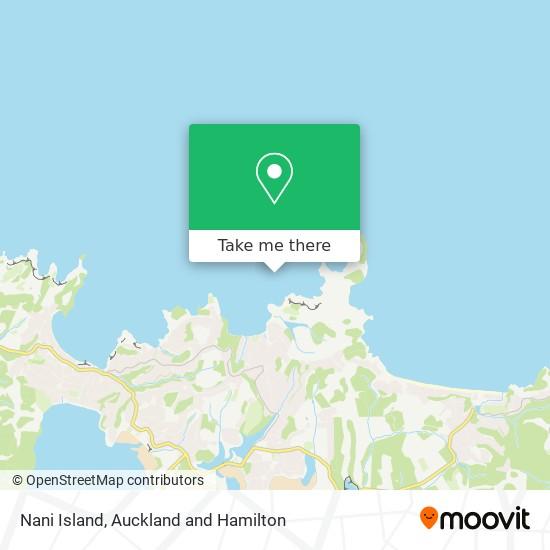 Nani Island map