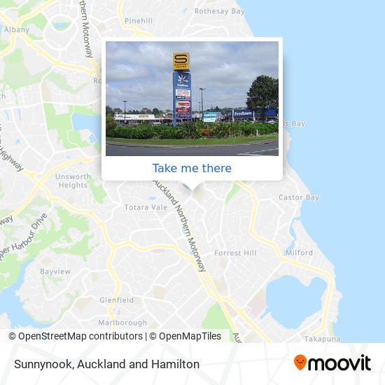Sunnynook map