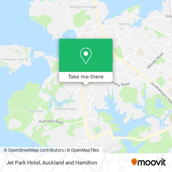 Jet Park Hotel map