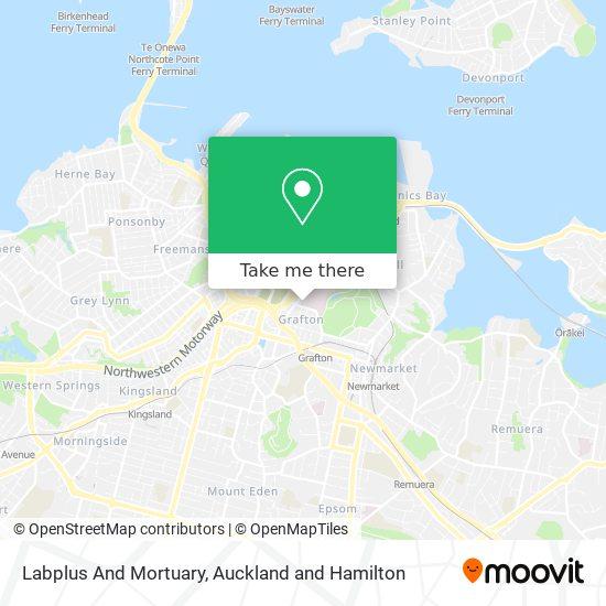 Labplus And Mortuary map