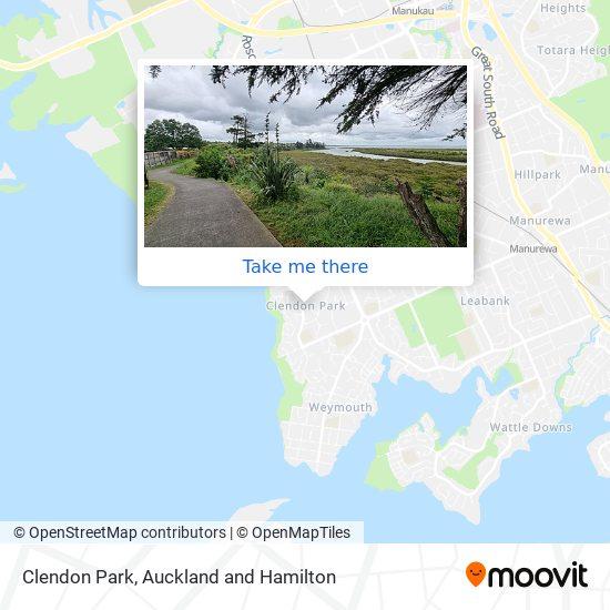 Clendon map