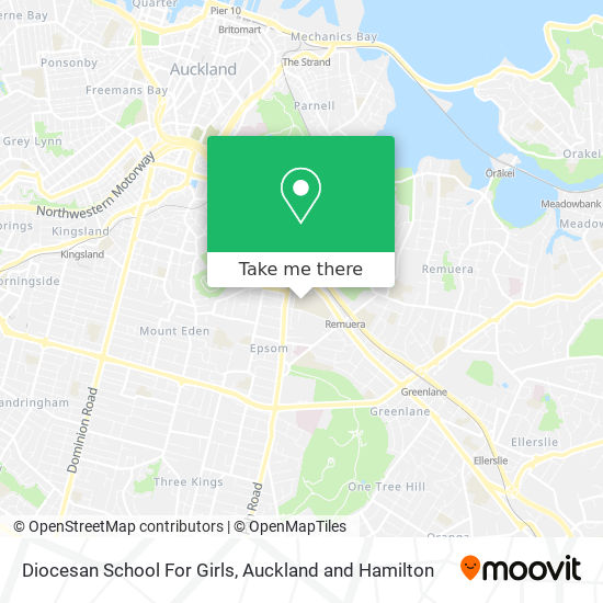 Diocesan School For Girls map