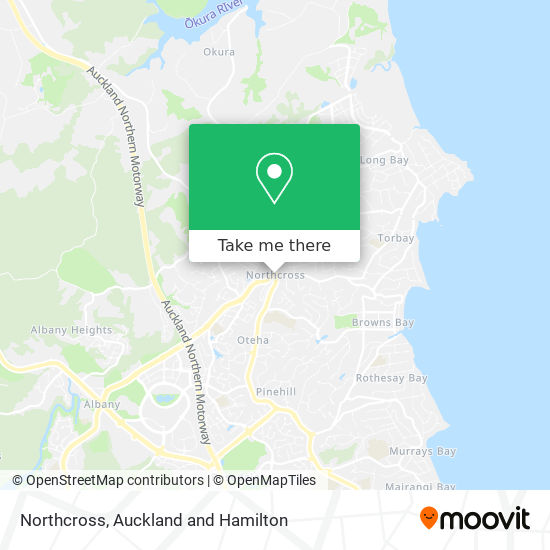 Northcross map