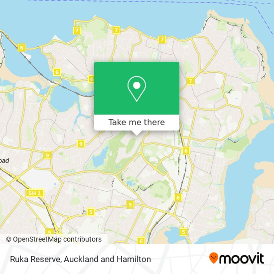 Ruka Reserve map