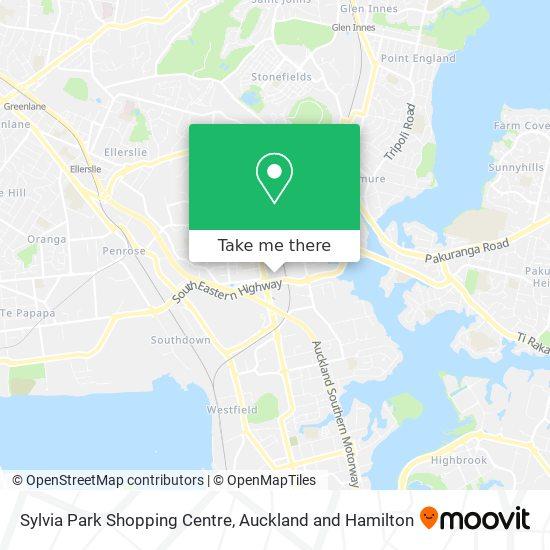 Sylvia Park Shopping Centre map