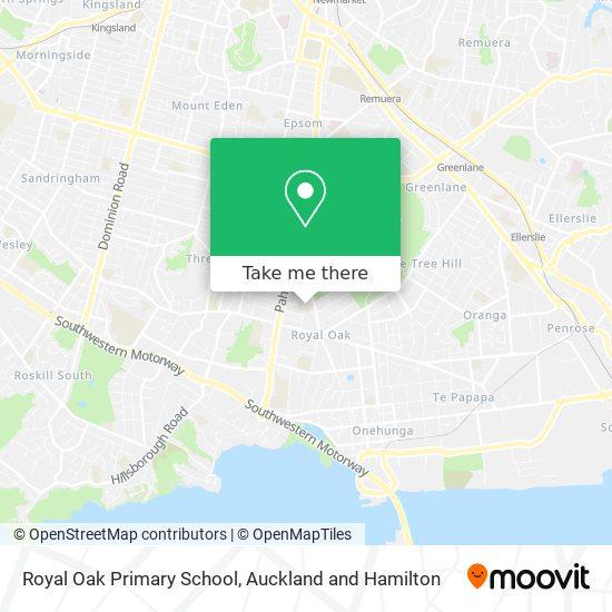 Royal Oak Primary School map