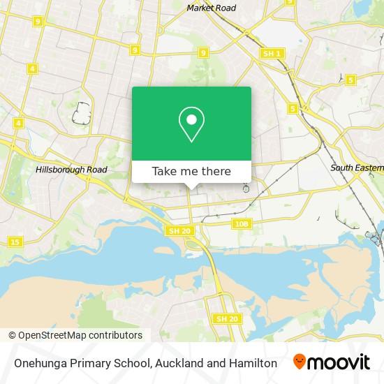 Onehunga Primary School map