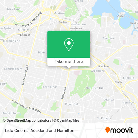 Lido Cinema map