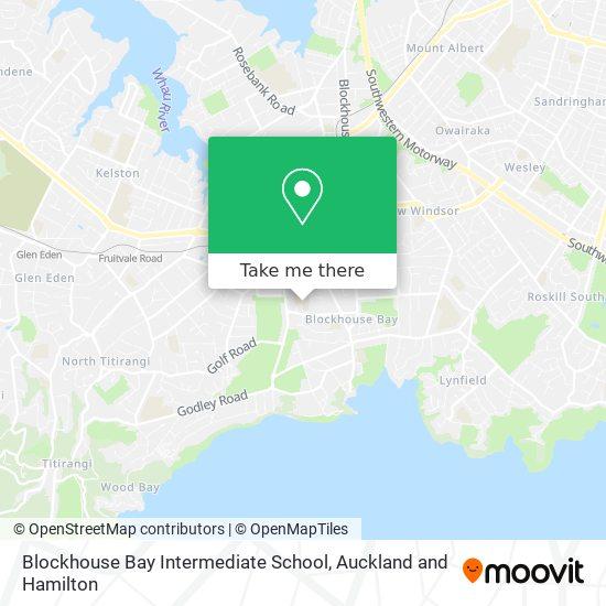 Blockhouse Bay Intermediate School map