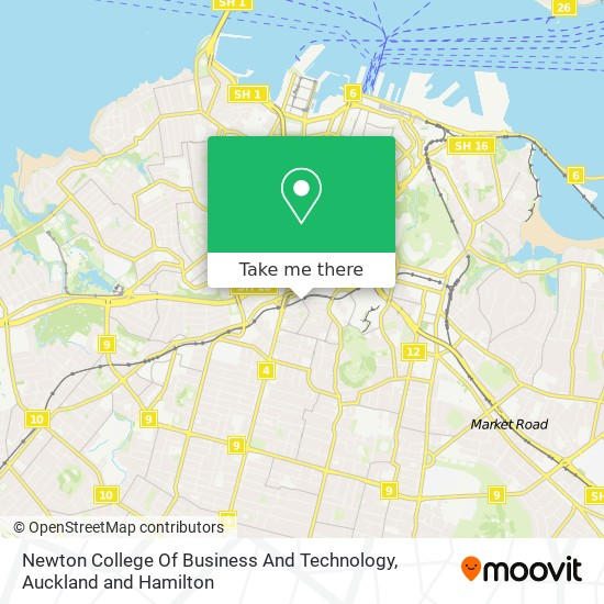 Newton College Of Business And Technology map