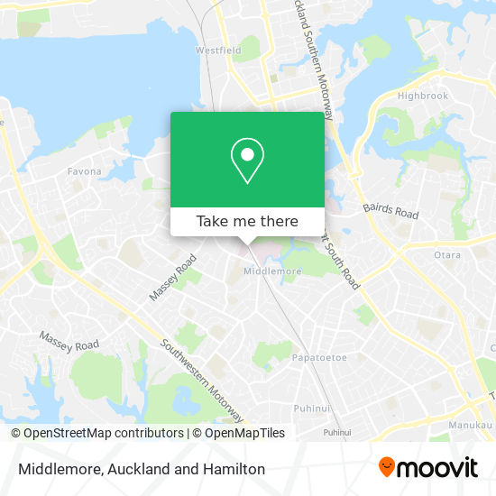 Middlemore map