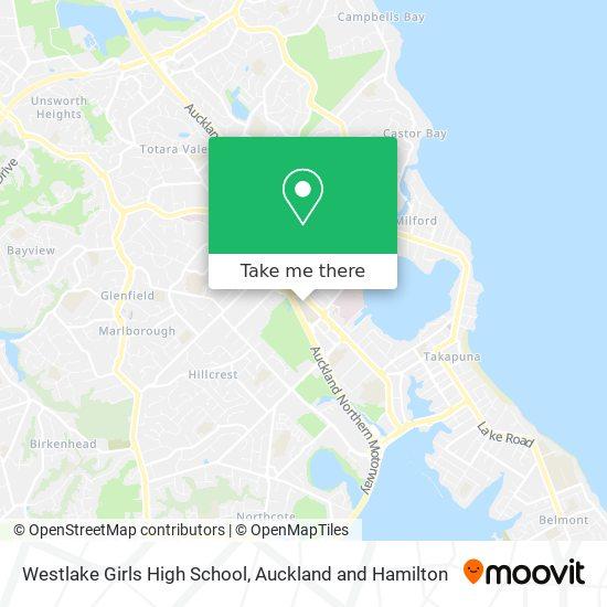 Westlake Girls High School map