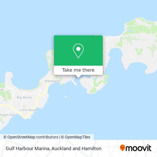 Gulf Harbour Marina map