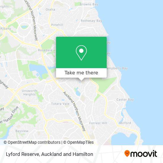 Lyford Reserve map
