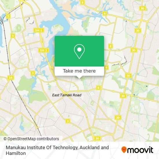 Manukau Institute Of Technology map