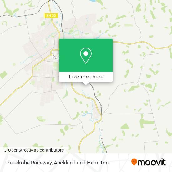 Pukekohe Raceway map