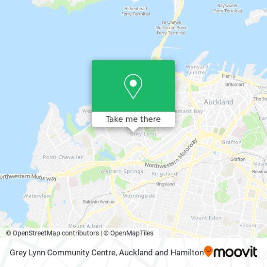 Grey Lynn Community Centre map