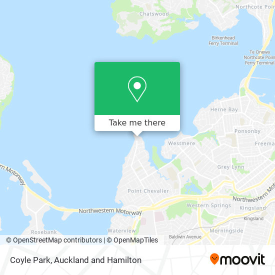 Coyle Park map