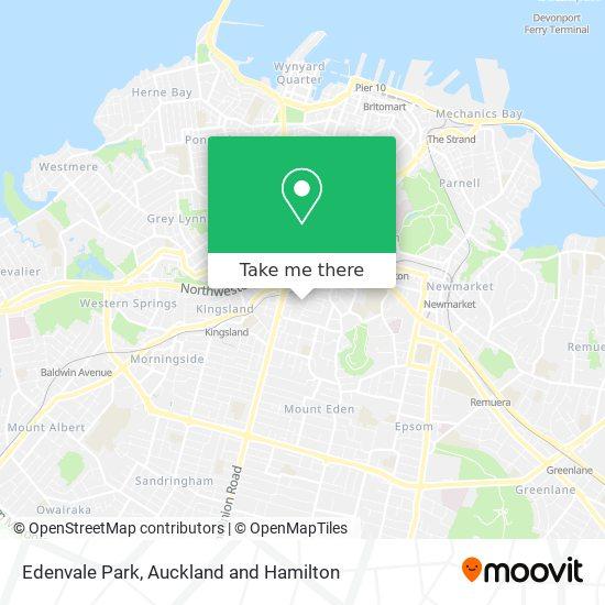 Edenvale Reserve map