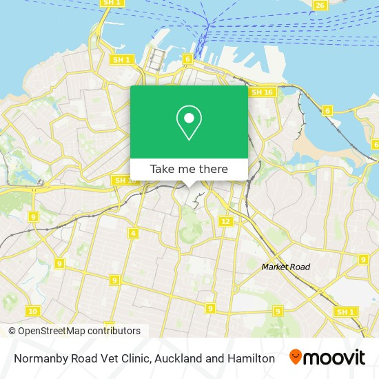 Normanby Road Vet Clinic map