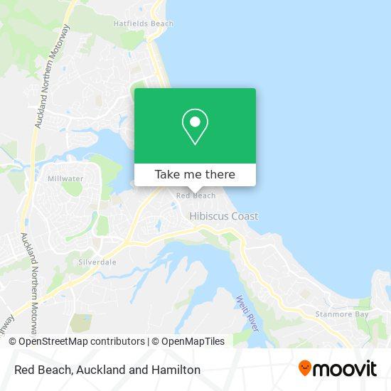 Red Beach map