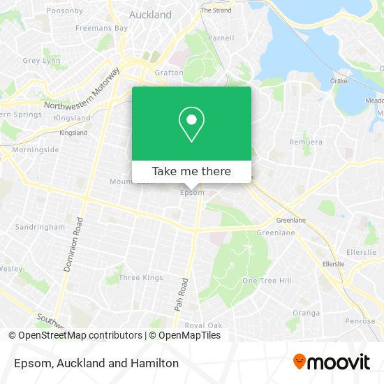 Epsom map