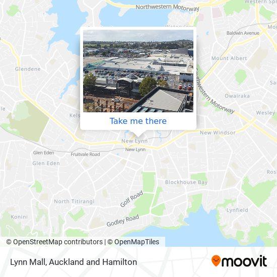 Lynn Mall map