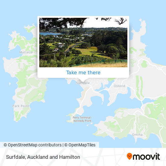 Surfdale map