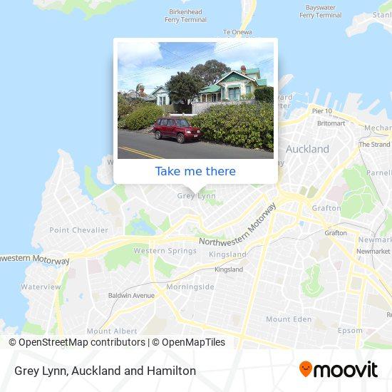 Grey Lynn map