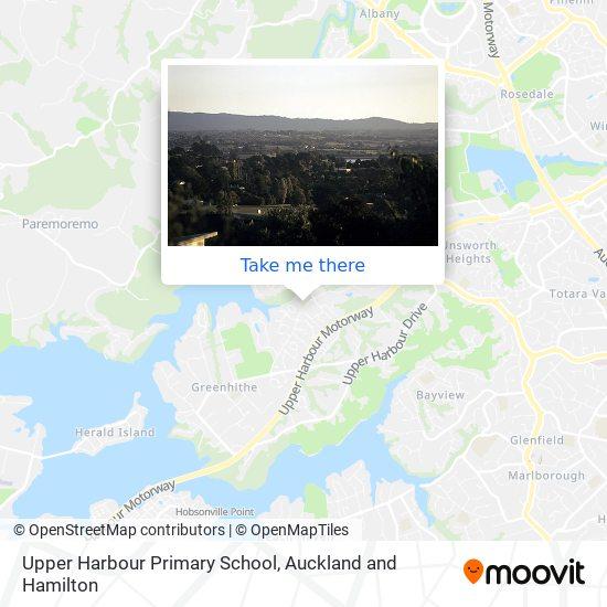 Upper Harbour Primary School map
