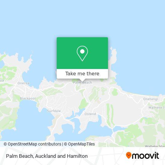 Palm Beach map