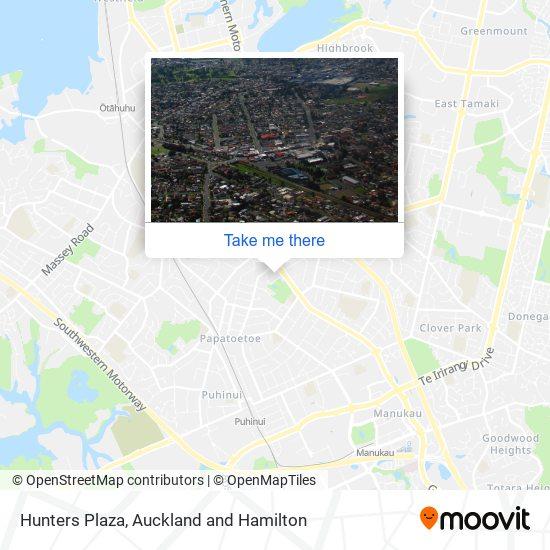 Hunters Plaza map