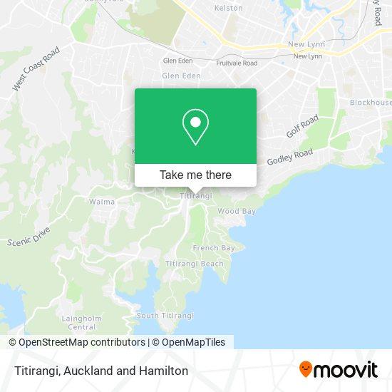 Titirangi map