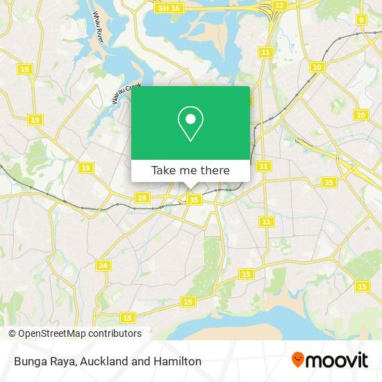 Bunga Raya map
