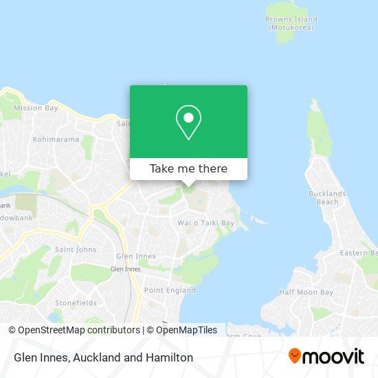 Glen Innes map