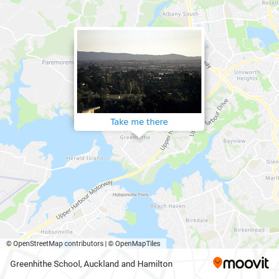 Greenhithe School map